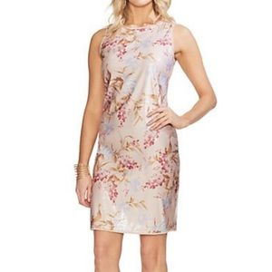 Vince Camino sequined floral dress